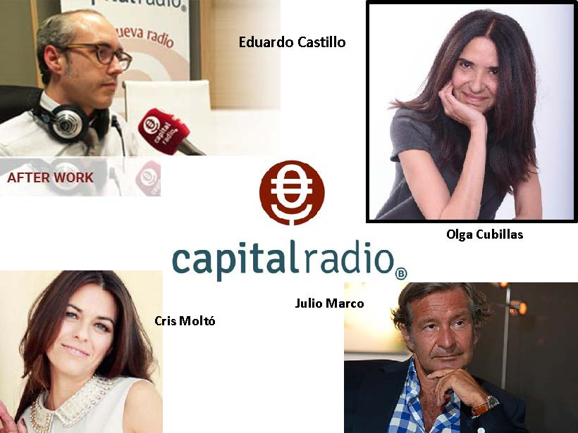 Olga Cubillas en Capital Radio – Afterwork